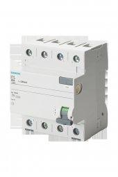 Siemens 5sv4344 0 40a 30ma 400v (3 Faz+nötr)...