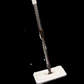 Zambak Tablet Mop Sapı Seti + 2 Yedek Mop Temizlik Seti Sapı Ve Mop Pratik Temizlik Seti Başlığı