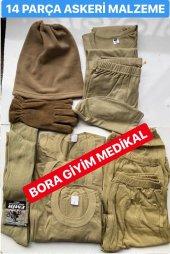 Asker Çamaşır Atlet Külot Malzeme Seti Asker İhtiyaçları 14 Parça