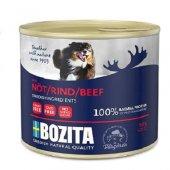 Tahılsız Sığır Etli Yetişkin Köpek Konserve Mama Bozita 625 Gr