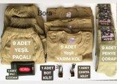Askeri Set Malzeme Seti Acemi Ve Bedelli Asker İhtiyaçları Askeri Atlet Külot Çorap Cüzdan 30 Parça