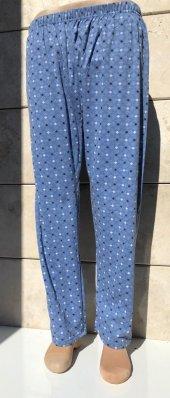 Erkek Pijama Desenli Don Dede Donu İç Don Paça Lastikli Düz
