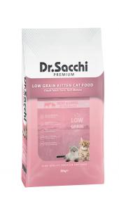 Dr.sacchi Premium Düşük Tahıllı Yavru Kedi Maması 10 Kg
