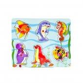 Canem Deniz Hayvanları Ahşap Puzzle