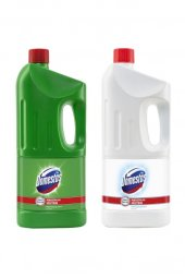 çamaşır Suyu Dağ Esintisi 2 Litre + Kar Beyaz 2 Litre Hg3405