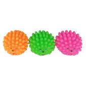 Sesli Renkli Kirpi Köpek Oyuncağı 7 Cm