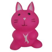 Sesli Pembe Tavşan Köpek Oyuncağı 5 * 8 Cm
