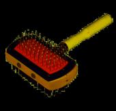 Ans Tahta Saplı Çift Taraflı Temizlik Fırçası 18x10 Cm