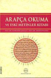 Arapça Okuma Ve Eski Metinler Kitabı
