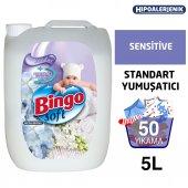 Bingo Soft Standart Yumuşatıcı 5 Lt Sensitive