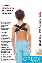 KLAVİ KULA ( POSTUREX ) DİK DURUŞ  KORSE   Variteks®  -  Orlex®-8