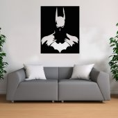 Batman Temalı Ahşap Tablo