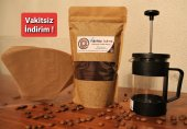 250 gr Filtre Kahve + 350 ml French Press + 10 Adet Filtre Kağıdı KARGO ÜCRETSİZ!