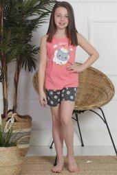 Aytuğ Kız Çocuk Kalın Askılı Şort Takımı Gr 10...