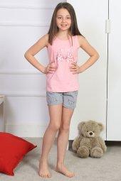 Aytuğ Kız Çocuk Kalın Askılı Şort Takımı Gr 7...