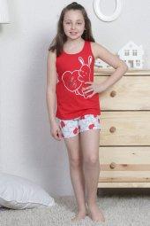 Aytuğ Kız Çocuk Kalın Askılı Şort Takımı Gr 8...