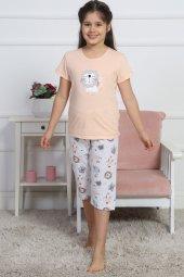 Aytuğ Kız Çocuk Kısa Kol Kapri Takımı - GR-2-01