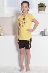 Aytuğ Kız Çocuk Kısa Kol Şort Takımı - GR-1-01