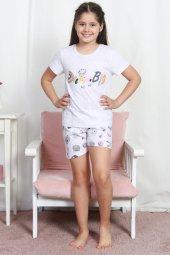 Aytuğ Kız Çocuk Kısa Kol Şort Takımı Gr 3 01...