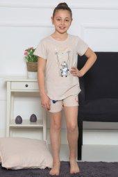 Aytuğ Kız Çocuk Kısa Kol Şort Takımı Gr 4 01...