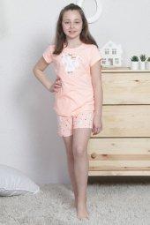 Aytuğ Kız Çocuk Kısa Kol Şort Takımı Gr 6 01...