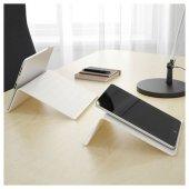 ıkea Isberget Pc Laptop Tablet Desteği Standı Beyaz Dock Kitap Okuma Standı