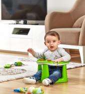 Dünya Plastik Bebek Oturaği Pembe