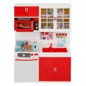 Modern Kitchen Işıklı Sesli Mutfak Oyun Seti 1012