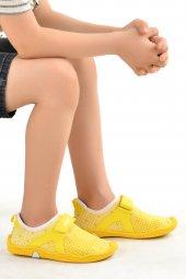 Vicco 223.18Y.656-57 Aqua Havuz Plaj Kız/Erkek Çocuk Deniz Ayakkabısı Sarı