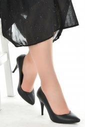 Ayakland 1943 72 Cilt 11 Cm Topuk Bayan Stiletto Ayakkabı Siyah