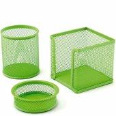 Mas Perfore Üçlü Set Yeşil