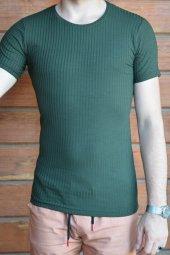 Basic Haki Erkek Tişört