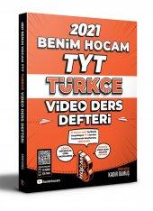 2021 Tyt Türkçe Video Ders Defteri Benim Hocam Yayınları