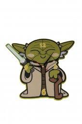 Star Wars Yoda Duvar Saati 22x28cm Hediyelik Dekortaif Eşya Saat