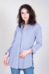 Kadın Gömlek Mavi