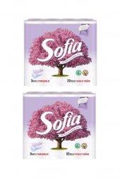 Parfümlü 3 Katlı Tuvalet Kağıdı 64 Rulo