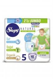 Sleepy Natural Külot Bez 5 Numara Junior 192...