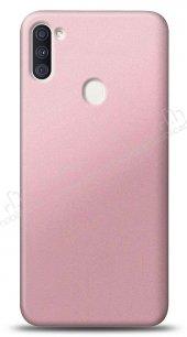 Samsung Galaxy A11 Rose Gold Mat Silikon Kılıf