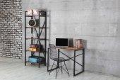 Öykü Metal Kitaplık, Tel Sandalye, Çalışma Masası Takımı