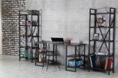 Işıl Metal Kitaplık, Tel Sandalye ve Çalışma Masası Takımı-2