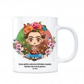 Frida Kahlo Kupa Bardak Zaman Geçtikçe