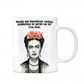Frida Kahlo Kupa Bardak Uçmak İçin Kanatların Varken