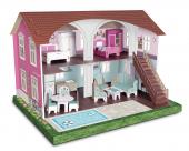 Karton Oyuncak Ev Pink House