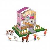 Karton Oyuncak Çiftlik Ev