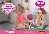 Mobilyalı Bebek Oyun Evi Medium