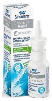 Sinomarin Cold & Flu Relief Sprey 30 Ml