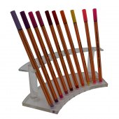 Kalem Standı Oval Pleksi