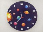 Güneş Sistemi Çocuk Duvar Saati Ücretsiz Kargo...