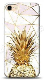 iPhone 8 Gold Pineapple Kılıf