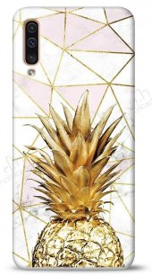 Samsung Galaxy A50 Gold Pineapple Kılıf